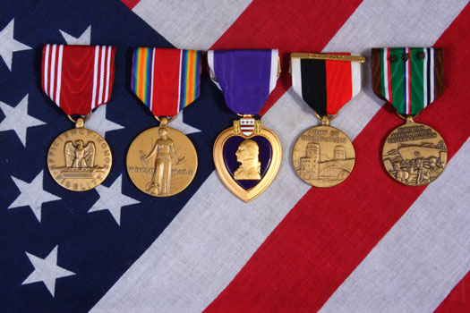 The Significance of Eagles on Military Awards in San Diego, CA