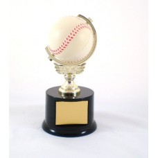 BB03 Baseball Spin Ball Trophy