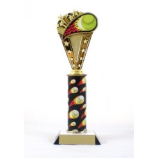 SBfame Softball Flame Trophy
