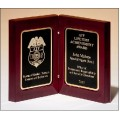 P4834 High gloss rosewood stained book award
