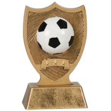 6 inch Soccer Ball Sport Shield Award