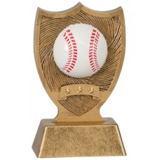 6 inch Baseball Sport Shield Award