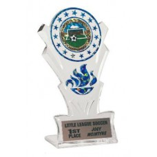"8""  Star Torch Stand Award"