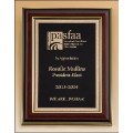 High Gloss Mahogany Plaque