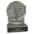 4 1/4 inch Basketball Wreath Resin