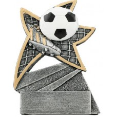 Soccer Jazz Star Resin 5 1/2""