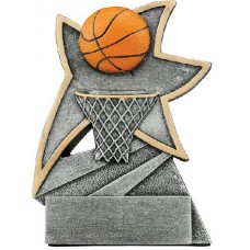 Basketball Jazz Star Resin