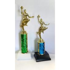 BAS15 Basketball Single Column Trophy