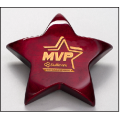 Rosewood Piano Finish Star Paperweight