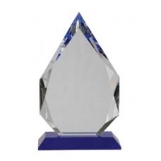 CRY505 Crystal Diamond on Blue Base