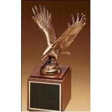 antique bronze eagle casting