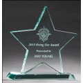 G2757  Star Jade Glass Award