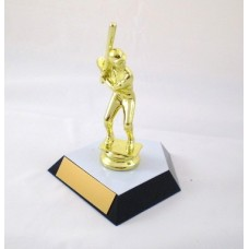 BB02 Baseball Competitor Trophy (topper choices)
