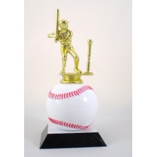 """New"" Baseball Ball Trophy"