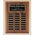 P3300/P3302 Walnut Perpetual Plaque