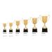 Zinc Metal Cup -Gold