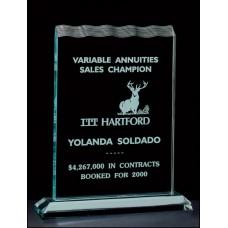 """Tidal Series 3/4"""" Thick Acrylic Award"""