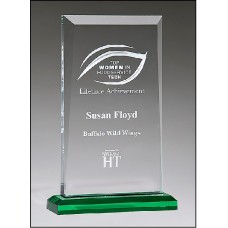 NEW  Apex Series Award with Green Highlights