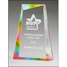 NEW Acrylic Award with Prism-Effect Finish