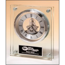 BC1011 Contemporary Styled Large Glass Clock