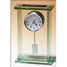 BC1012  Glass Clock