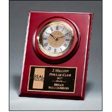 BC1014  Cherry Finish Clock