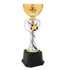 Gold Star Metal Cup Trophy