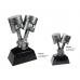 Antique Silver Piston Award