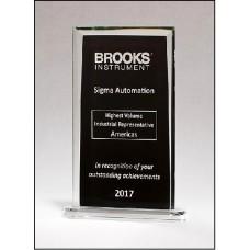 Rectangular Glass Award