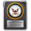 "10 1/2"" x 13"" Navy Hero Plaque"