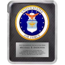 "10 1/2"" x 13"" Air Force Hero Plaque"