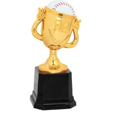 "6"" Baseball Happy Cup Trophy"