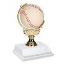 BB16 Baseball Spinner Trophy