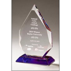 NEW Crystal Award with Prism-Effect Base