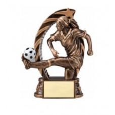 Running Star Soccer Resin - Female