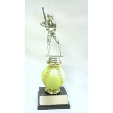 SB12 Softball Spin Ball Trophy