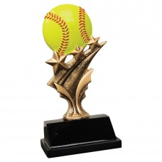 "NEW    5 1/2"" Softball Tri Star Resin"