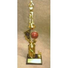 BAS09 Basketball Shooting Star Trophy