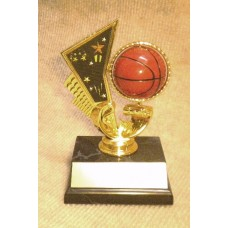 BAS05 Basketball Motion Trophy