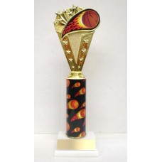 BASflame Basketball Flame Trophy