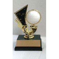 VOL05 Volleyball Motion Trophy