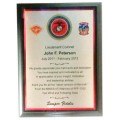 Military Full Color Plaque