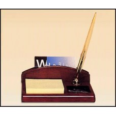 543 Rosewood stained piano finish desk organizer