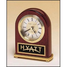 BC46 Rosewood Piano Finish Desk Clock