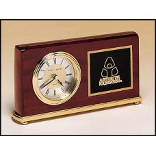 BC48 Rosewood Piano Finish Desk Clock