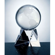 C580BE World Crystal Globe