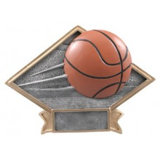 Diamond Basketball Resin Plate