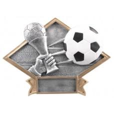 Diamond Soccer Resin Plate