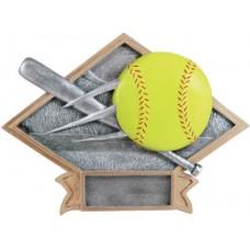SB14 Diamond Softball Resin Plate