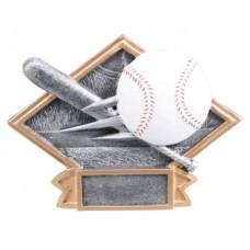 Diamond Baseball Resin Plate